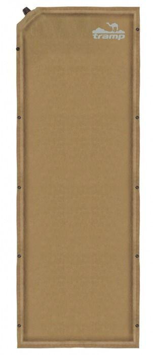 Коврик самонадувающийся Tramp, цвет: бежевый, 190х65х5см. TRI-010TRI-010Размер: 190x65x5 см Клапан: пластик (1шт) Допустимая нагрузка: до 130 кг Полный вес: 1,9 кг Упаковка: тканевый мешок Размер в упаковке: 65х19 см Ковёр имеет чехол и стягивающие ремни. Снабжен кнопками с обеих сторон для состёгивания с другими ковриками. Серия Комфорт + Новая сверх-комфортная серия. Материал верхнего слоя ковров данной серии выполнен из тканой замши. Это не позволит спальнику сползать с ковра и обеспечит дополнительную мягкость, сохраняя тепло вашего тела. Структура низа ковра - SlidesLess (точечное гелеобразное нанесение) не даст ему скользить по дну палатки при расположении на наклонных поверхностях. Некоторые модели оснащены вторым клапаном для сокращения времени самонадувания.