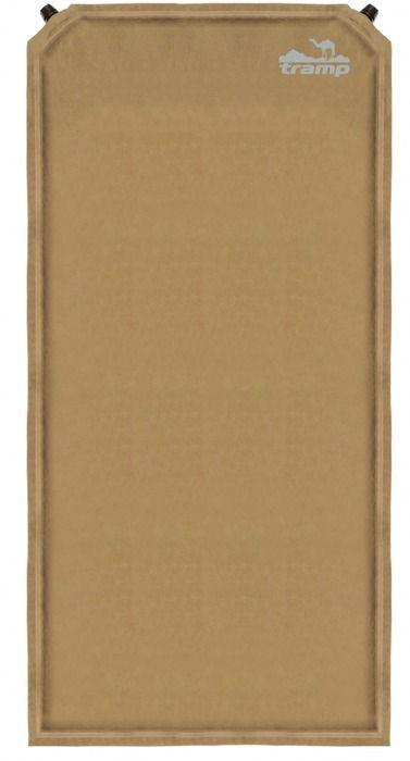 Коврик самонадувающийся Tramp, цвет: бежевый, 185х130х5,0см. TRI-011TRI-011Размер: 180х130х5 см Клапан: пластик (2 шт) Допустимая нагрузка: до 130 кг Материал: Полиэстер Сhamois suede Материал (верх), Полиэстер Slides Less 75D (дно) Полный вес: 4 кг Упаковка: тканевый мешок Ковёр имеет чехол и стягивающие ремни. Серия Комфорт + Новая сверх-комфортная серия. Материал верхнего слоя ковров данной серии выполнен из тканой замши. Это не позволит спальнику сползать с ковра и обеспечит дополнительную мягкость, сохраняя тепло вашего тела. Структура низа ковра - SlidesLess (точечное гелеобразное нанесение) не даст ему скользить по дну палатки при расположении на наклонных поверхностях. Некоторыемодели оснащены вторым клапаном для сокращения времени самонадувания. Размер в упаковке: 65х25 см
