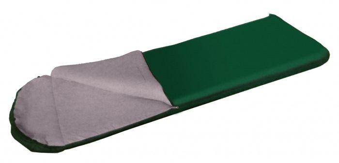 Спальный мешок Tramp BAIKAL 300, цвет: зеленый. TRS-021TRS-021Размер: 77x240 см Количество слоев: 2 Температура комфорта: 14 Нижний предел комфорта: 5 Температура экстрима: 0 Полный вес: 1,5 кг Эксплуатация После каждого использования следует хорошо просушить спальный мешок на солнце. Внимание! Не используйте спальный мешок в близи открытого огня! При укладке спального мешка в компрессионный мешок, не пытайтесь его складывать или скатывать. Следует вталкивать его хаотично. Это позволит избежать смятых волокон и потертостей на месте сгиба. Уход Спальный мешок следует стирать только при появлении сильных загрязнений, так как каждая стирка ухудшает его теплоизоляционные свойства. Рекомендуется ручная стирка при температуре не выше 40 С. При стирке используйте специальные моющие средства для синтетических наполнителей, которые можно приобрести в специализированных магазинах. Не используйте отбеливатель и ополаскиватель для белья – это может повредить волокна Вашего спального мешка! Не следует отжимать...