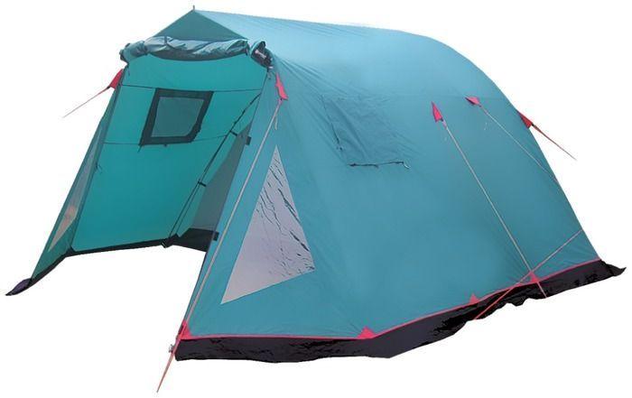 Палатка кемпинговая Tramp Baltic wave 4, цвет: зеленый. TRT-072,04TRT-072.04Размер: 470 x 310 см Количество мест: 4 Тент: 100% Полиэстер 75D/190Т Dry Tech PU 4000 мм в ст Внутренняя палатка: 100% дышащий полиэстер Каркас: Durapol 11 мм + сталь 16 мм Дно: армированный полиэтилен (терпаулинг) Количество входов: 2 Полный вес: 13,2 кг Количество тамбуров: 2 Размер спального места: 210 х 300 см Размер тамбура: 190 + 80 см Высота: 190 см Двухслойная кемпинговая палатка с двумя входами, большим тамбуром -Внешний тент палатки устойчив культрафиолетовому излучению -Внешний тент имеет пропитку, задерживающую распространение огня -Входы всех спальных отделений продублированы москитной сеткой - Во внешнем тенте вход в тамбур продублирован москитной сеткой -Тент палатки оборудован юбкой -Большое спальное отделение -Два больших вентиляционных окна -Все швы палатки проклеены -Съемный пол из терпаулинга в тамбуре Палатки этой серии рассчитаны на семейный отдых, отдых большой компанией. ...