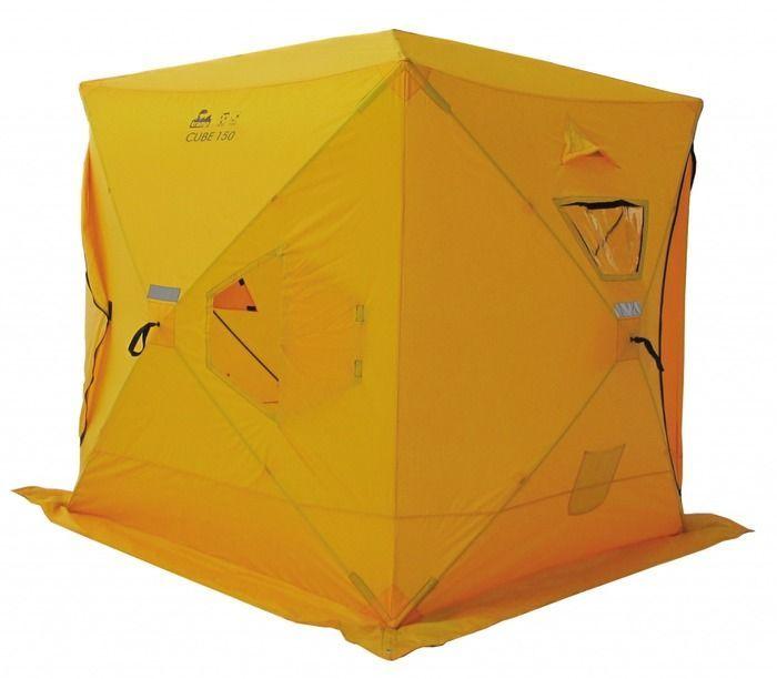 Палатка Tramp IceFisher 2 RU, цвет: желтый. TRT-119TRT-119Размер: 180х180х200см Количество мест: 3 Полный вес: 7,6кг Размер в упаковке: 20х20х130 см - Увеличенная двойная дверь - Четыре обзорных окна, которые можно использовать как вентиляцию - Два вентиляционных отверстия - Два кармана для мелочей внутри - Широкая юбка по периметру - Ледовые ввертыши и оттяжки в комплекте - Светоотражающие элементы на каждой стороне и всех гранях - Удобная сумка для переноски