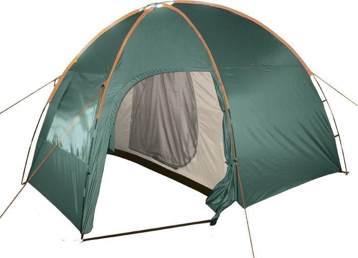 Палатка кемпинговая Тотеm Apache 4, цвет: зеленый. TTT-007,09