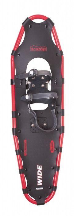Снегоступы Tramp Wide, цвет: черный, красный. TRA-001. Размер XL