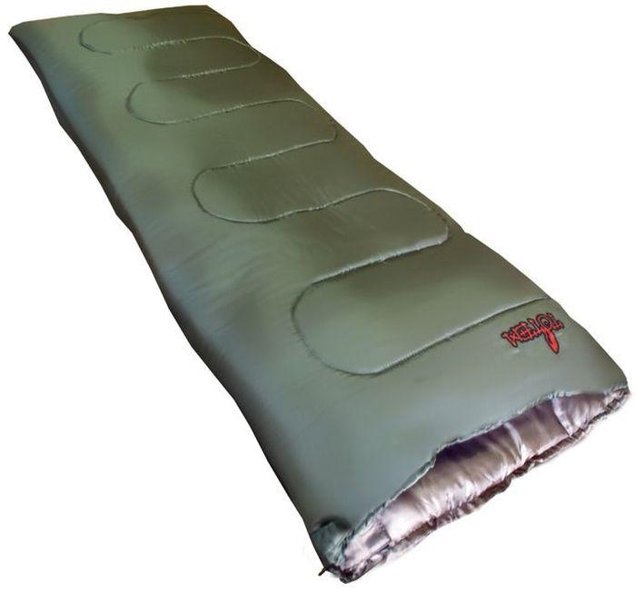 Спальный мешок Тотеm Woodcock L, цвет: олива, левая молния. TTS-001