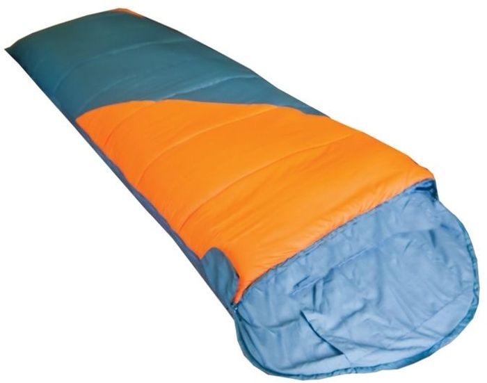 Спальный мешок Tramp FLUFF R, цвет: оранжевый, серый, правая молния. TRS-017.02 TRS-017.02_R