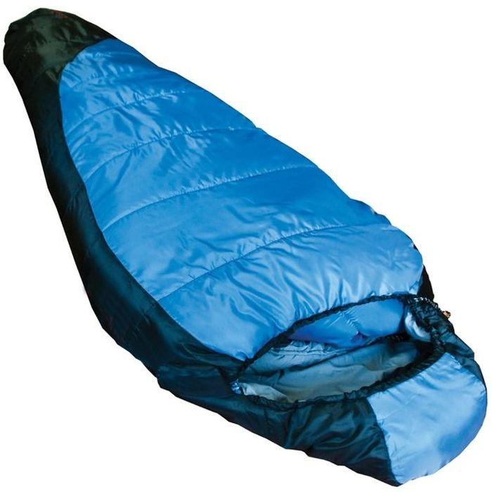 Спальный мешок Tramp SIBERIA 3000 L, цвет: индиго, черный, левая молния. TRS-007.06