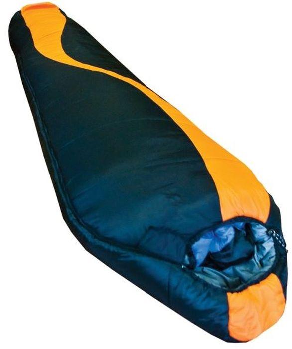 Спальный мешок Tramp SIBERIA 7000 R, цвет: оранжевый, черный, правая молния. TRS-010.02TRS-010.02_RРазмер: 80 (55) x 230 см Количество слоев: 2 Температура комфорта: -1 Нижний предел комфорта: -6 Температура экстрима: -20 Полный вес: 2290 г Размер в сложенном виде: 40 х 27 см Упаковка: высококачественный компрессионный мешок 1. В этой линейке каждый, отправляющийся в путешествие, найдет себе тот спальный мешок, который необходим для условий похода. Здесь представлены как теплые двухслойные спальники, рассчитанные на экстремальные условия, так и более легкие, однослойные - для теплых условий. 2. Во всех спальных мешках этой серии используется современный, мягкий утеплитель - силиконизированный HiTech Hollofiber. Волокна данного материала имеют полый канал и спиралевидную форму, что позволяет удерживать большой объем воздуха и отлично сохранять тепло. Волокна не пропускают и не впитывают влагу, даже в условиях повышенной влажности сохраняют тепло. Материал отлично восстанавливается после сжатия, занимает минимальный объем, гипоаллергенен, не...