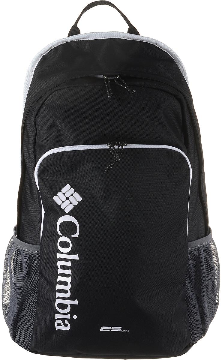"""Рюкзак городской Columbia Richmond 25l Daypack Backpack, цвет: черный. 1724771-0101724771-010Отделение для ноутбука диагональю 15"""". У модели уплотненная задняя панель для защиты и комфорта. Многофункциональные карманы. Регулируемые лямки и петля для подвешивания."""