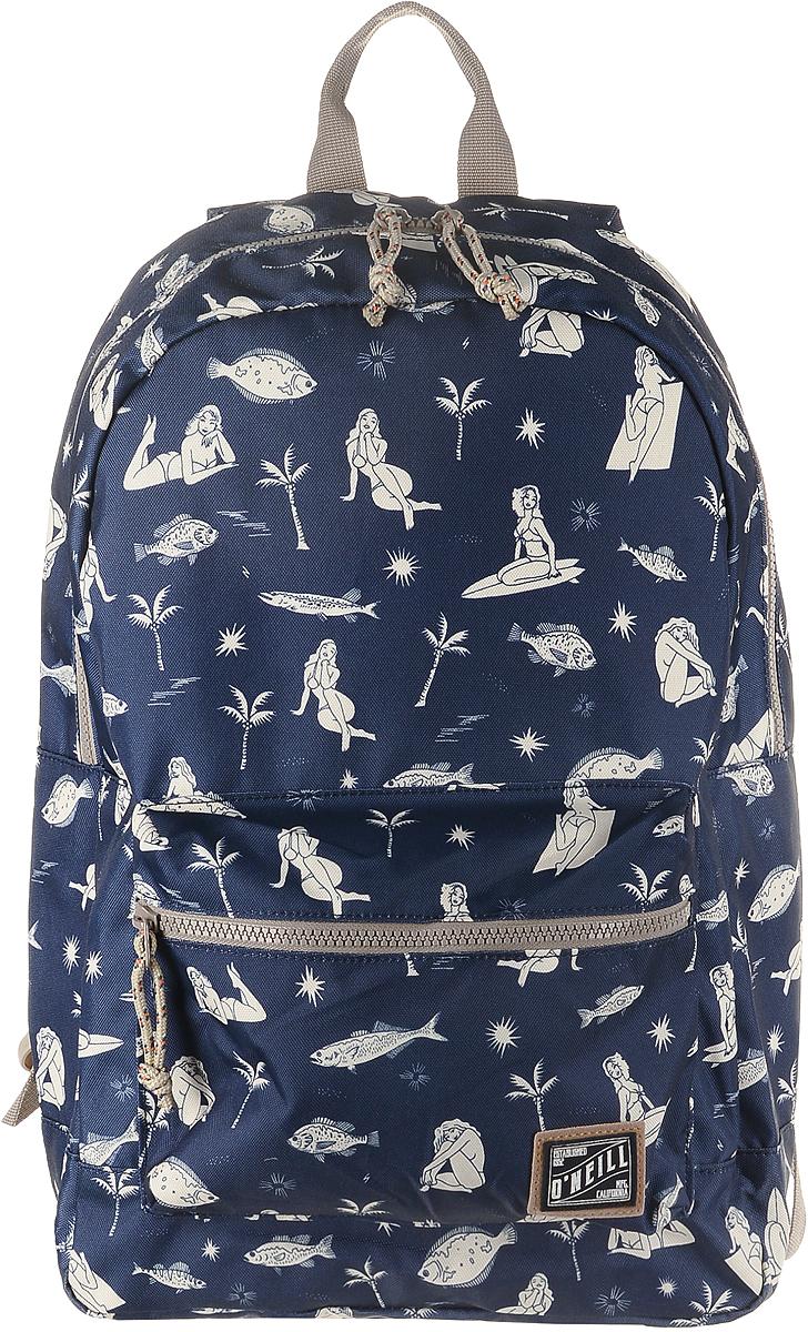 Рюкзак городской ONeill Bm Coastline Backpack, цвет: темно-синий7A4016-5900