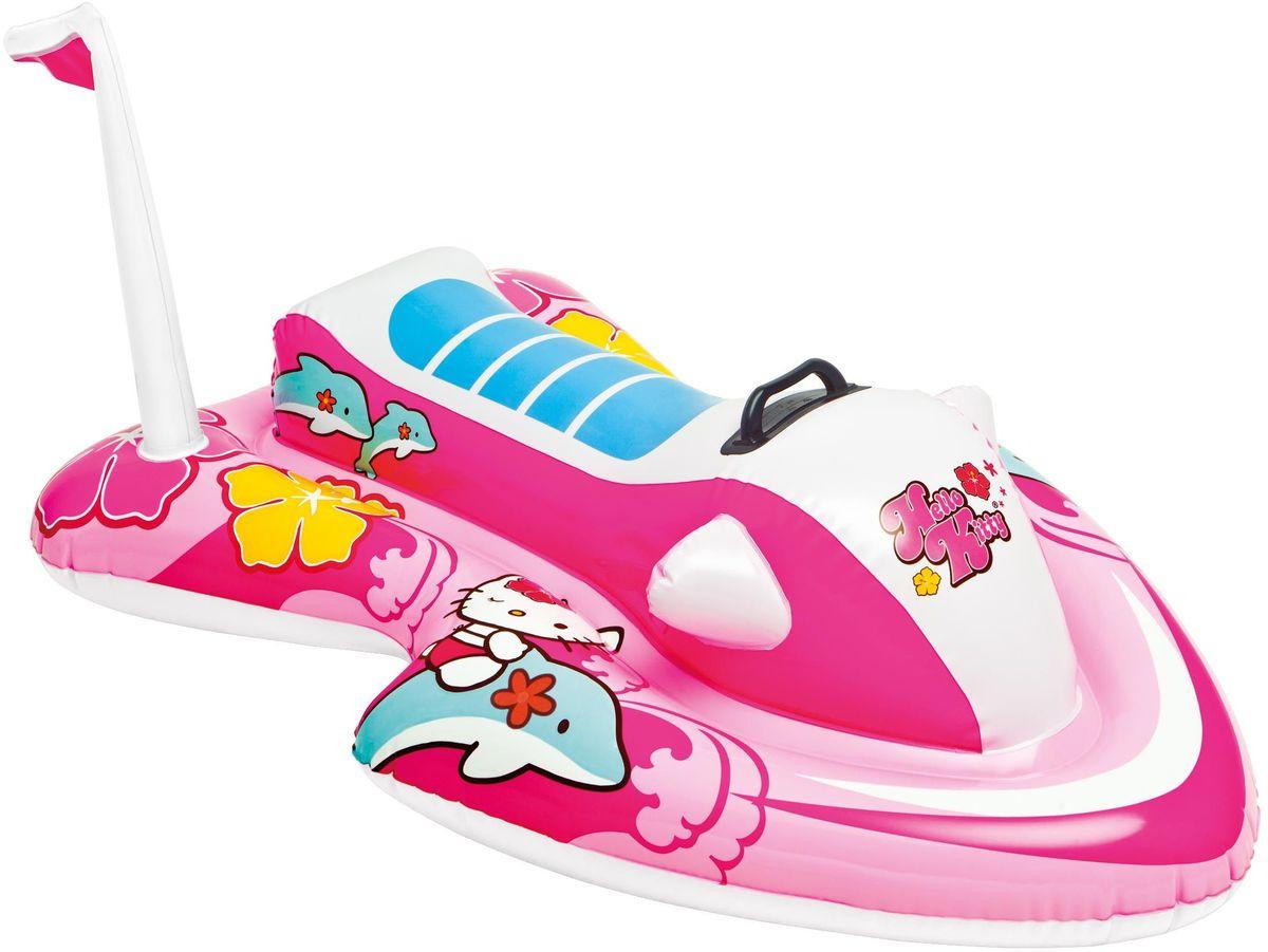 Надувной плотик Intex Hello Kitty, 117 х 77 см. с57522с57522надувной плотик Hello Kitty 117х77см