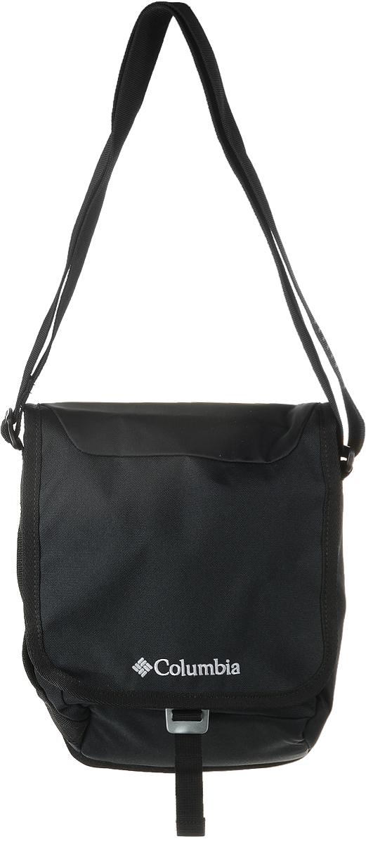 Сумка на плечо Columbia Input Side Bag, цвет: черный. 1715021-0101715021-010Сумка на плечо Columbia Input Side Bag выполнена из полиэстера. У модели регулируемые лямки и внутренний органайзер.