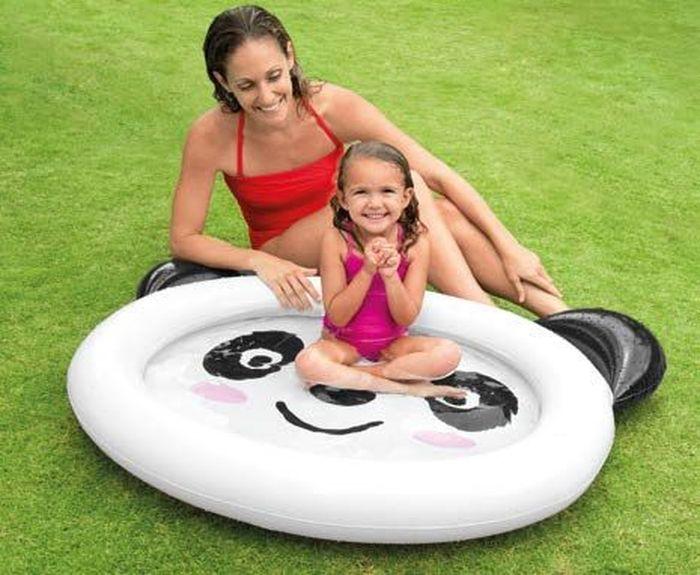 Надувной бассейн Intex Панда, 117 х 89 х 14 см. с59407с59407надувной бассейн для детей панда 117х89х14см