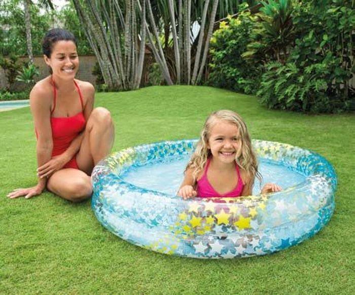 Надувной бассейн Intex Шарики, 122 х 25 см, от 3 лет. с59421с59421надувной бассейн шарики 122х25см от 3лет