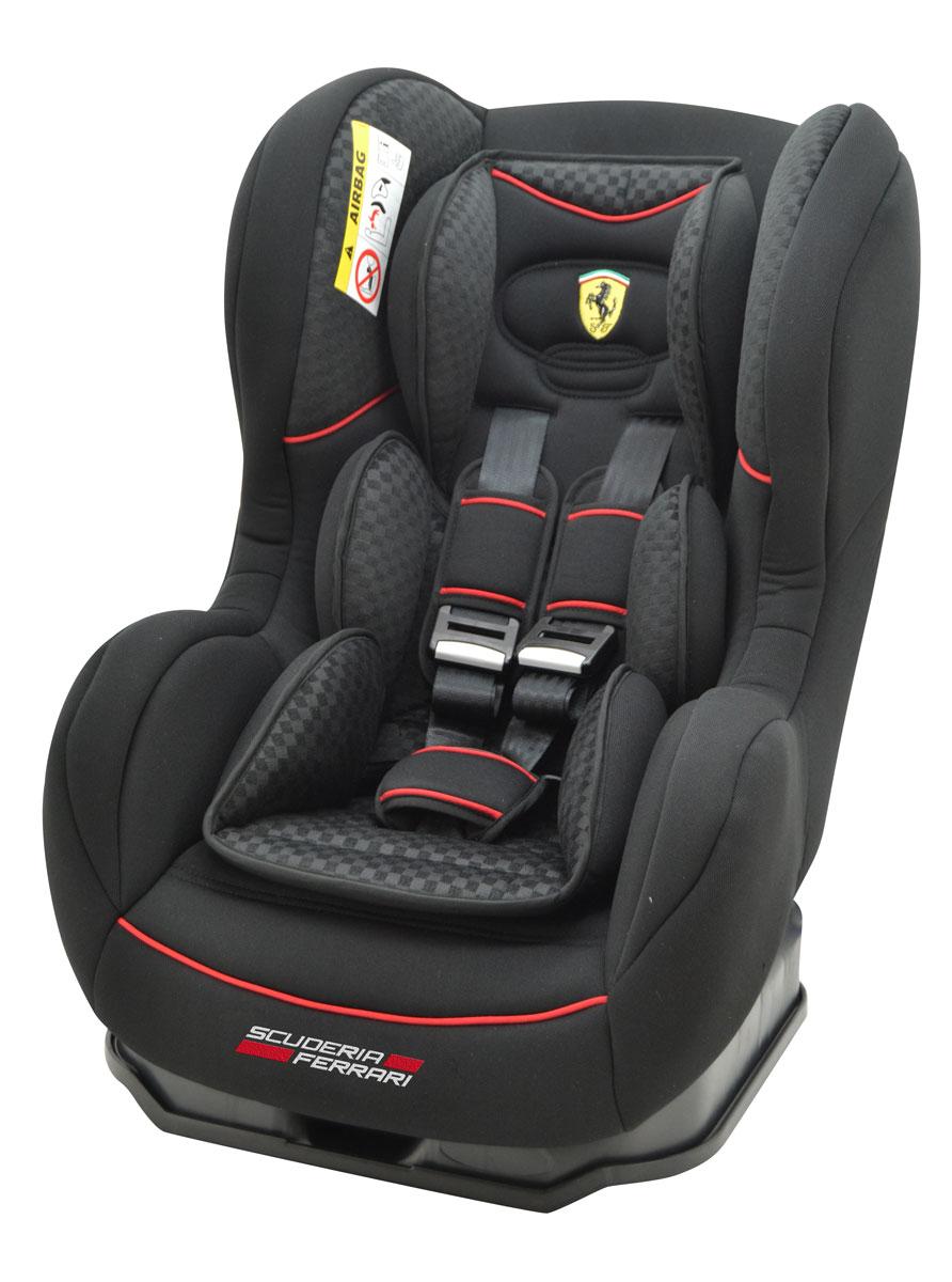 Nania Автокресло Cosmo SP Isofix Ferrari Black до 18 кг автокресло nania cosmo sp lx black ferrari