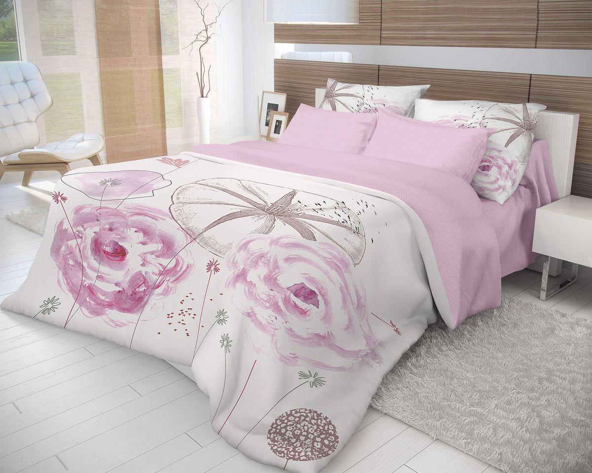 Комплект белья Волшебная ночь Shell, 2-спальный, наволочки 70х70. 704076704076