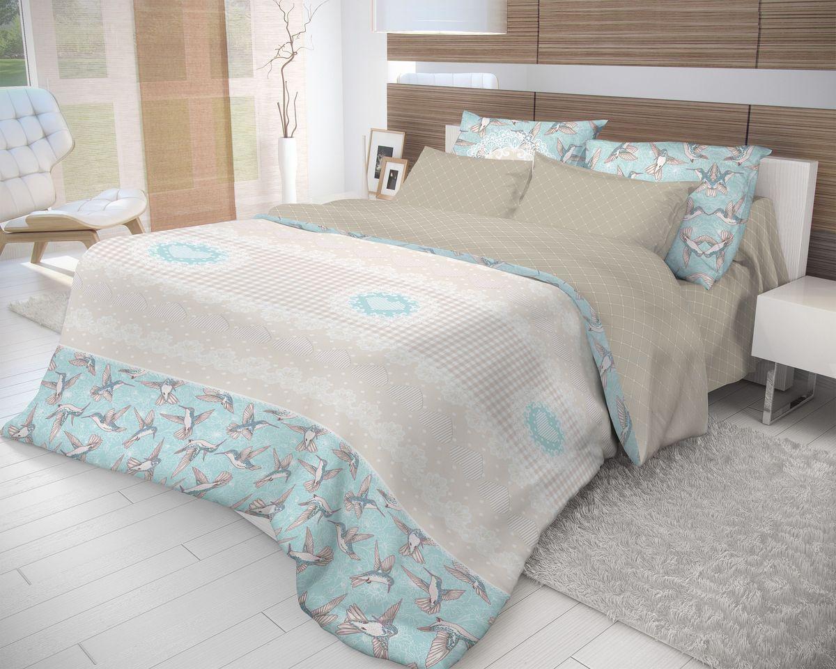 Комплект белья Волшебная ночь Colibri, 2-спальный, наволочки 70х70. 706778706778