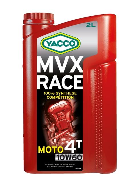 Масло Yacco MVX RACE 4T 10W60, для 4-тактных двигателей спортивных мотоциклов, 2 л332124MVX RACE 4T 10W-60 100% синтетическое масло для 4-тактных двигателей спортивных мотоциклов ПРИМЕНЕНИЕ 100% синтетическое моторное масло для 4-тактных двигателей мотоциклов, специально разработанное для спортивных соревнований. Защищает наиболее нагружаемые детали двигателя: коленчатый вал/поршни/распределительные валы/коробку передач/сцепление. Особо рекомендуется для двигателей в случае, когда производители мотоциклов требуют применение смазочного материала с классом вязкости 10W-60. ТИПИЧНЫЕ ПОКАЗАТЕЛИ Единицы измерения 10W-60 Плотность при 20°C кг/м3 851 Вязкость кинематическая при 40°C мм2/с 162 Вязкость кинематическая при 100°C мм2/с 24.5 Индекс вязкости 184 Температура застывания °C - 48 Температура вспышки (PMCC) °C > 220 Динамическая вязкость при - 25°C мПА*с (сП) 6000 Приведенные в таблице данные основаны на тестах в лабораторных условиях и предоставляются только как справочные. ПРЕИМУЩЕСТВА • Особый состав и класс вязкости SAE 10W-60 обеспечивают отличную устойчивость...