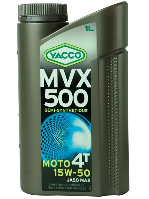 Масло моторное Yacco MVX 500 4T 15W50, 1 л332525MVX 500 4T 15W-50 Полусинтетическое масло для мотоциклов с 4-тактными двигателями ПРИМЕНЕНИЕ Высокоэффективная смазка двигателя в любых условиях эксплуатации, включая самые экстремальные условия, и в любое время года. Смазка также встроенных коробок передач, обеспечивая надлежащую защиту узла «коробка/сцепление» (допуски и одобрения JASO MA2) Подходит для всех типов мотоциклов (родстеры, дорожные мотоциклы, мотоциклы индивидуальной переделки, мотоциклы GT или спортивные мотоциклы). ПРЕИМУЩЕСТВА • Класс вязкости 15W-50 обеспечивает оптимальную смазку при высоких температурах для безотказной работы мотора в высокотемпературных режимах • Отличные моющие и диспергирующие свойства. • Высокие фрикционные свойства позволяют избегать «проскальзывания сцепления». • Высокоэффективная защита двигателя и коробки передач от износа. • Поддержание двигателей в чистом состоянии, что способствует удалению загрязняющих веществ при сливе масла. • Низкая летучесть позволяет уменьшить расход...