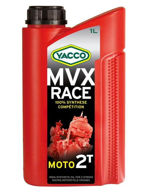 Масло моторное Yacco MVX RACE 2T, 1 л333025KVX RACE 2T Полностью синтетическое специальное масло для 2-тактовых спортивных картингов со смешанной смазкой с оборотами двигателя до 25 000 об/мин. ПРИМЕНЕНИЕ Новая полностью синтетическая формула на основе эстеров специально разработана для спортивных моделей 2-х тактных двигателей со смешанной смазкой и сверхвысокими оборотами: ROTAX, ATK, PARILLA, PCR, YAMAHA, Ital System, TM и т.п. Данное масло может смешиваться со всеми видами топлива. Концентрация при смешивании: от 2 до 8% в зависимости от условий эксплуатации и рекомендаций составителя смеси. ПРЕИМУЩЕСТВА • База на основе синтетических эфиров обеспечивает отличную стойкость к высокотемпературным режимам работы • Повышенная смазывающая способность уменьшает трения и поддерживает характеристики двигателя на должном уровне • Препятствует образованию нагара на свечах и не допускает загрязнения системы выпуска • Эффективно защищает двигатель от образования отложений, нагаров и смол • Красный цвет делает видимым масло при...