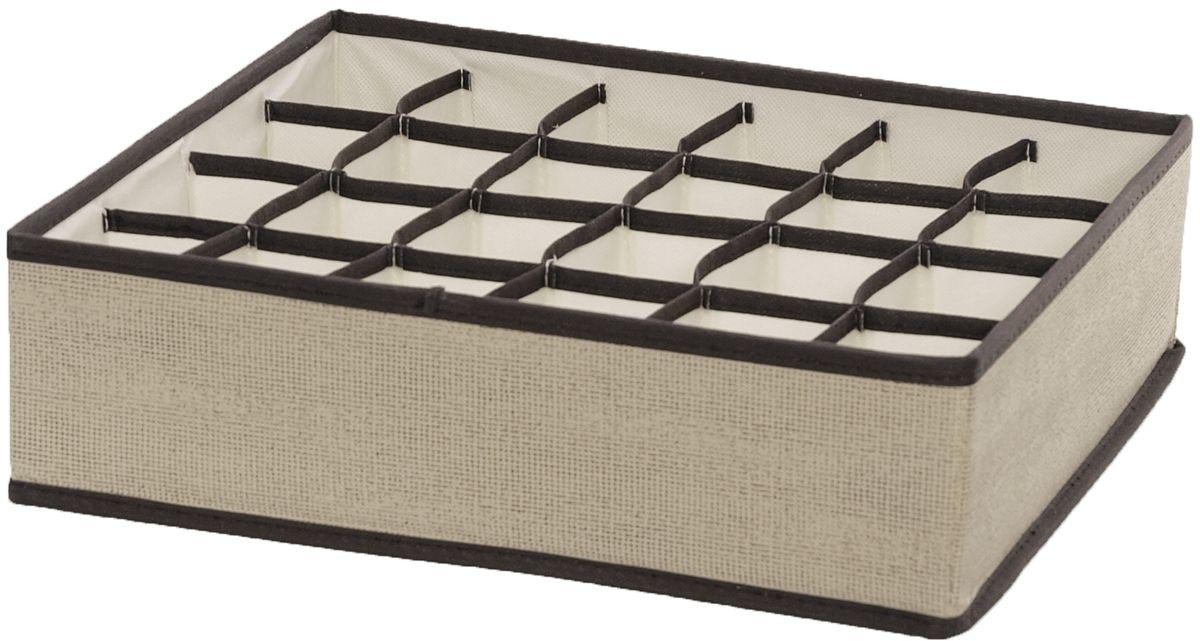 Органайзер HomeMaster, 35 х 32 х 10 смJJ703Органайзер предназначен для хранения аксессуаров и нижнего белья. Он обеспечит бережное хранение вещей и позволит организовать внутреннее пространство вашего дома. Теперь вы быстро найдете необходимую вещь. Органайзер можно расположить, как на полке, так и в выдвижном ящике вашего шкафа.