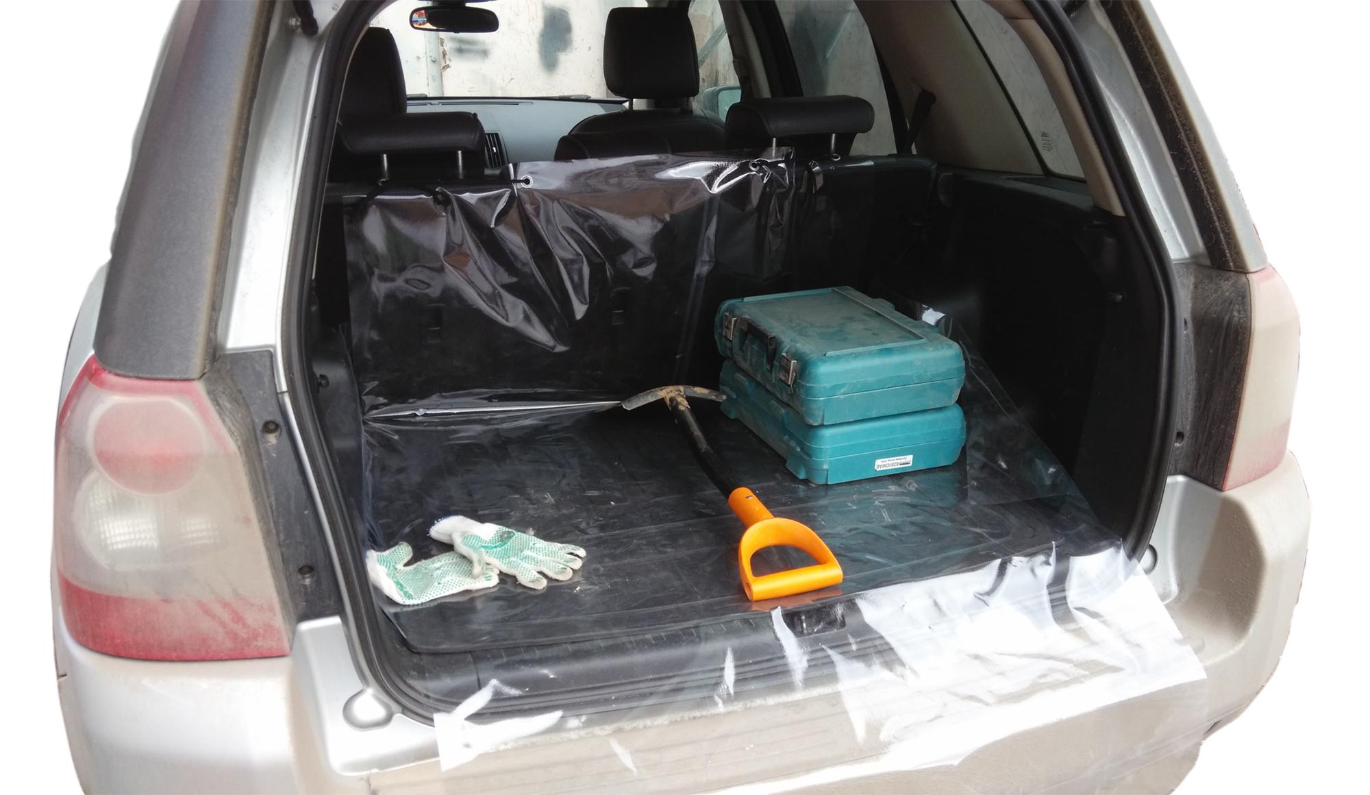 Накидка защитная Оранжевый слоник Свежесть, в багажник, малаяDEF0005TRЗащитная накидка в багажник Свежесть в багажнике маленькая.