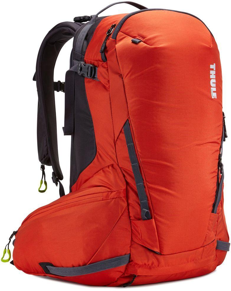 Горнолыжный рюкзак Thule Upslope Snowsports Backpack, цвет: оранжевый, 35 л209101Thule Upslope, 35 л - Рюкзак для катания вне трасс с легким доступом к снаряжению без необходимости снимать рюкзак.