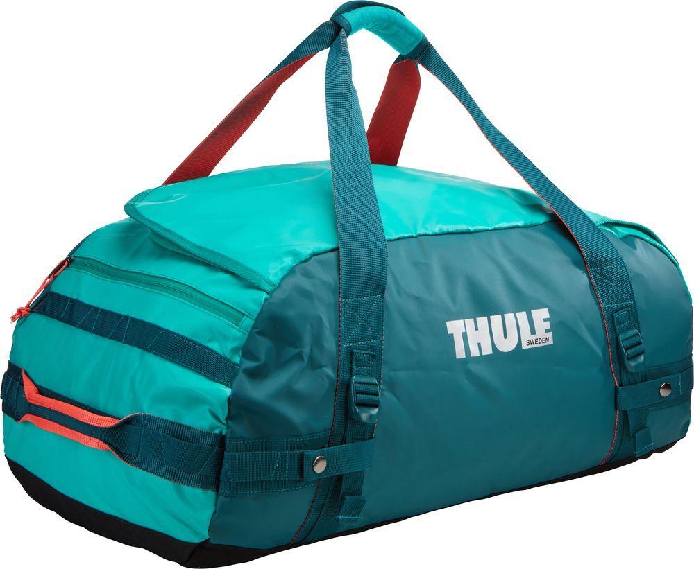 Спортивная сумка-баул Thule Chasm, цвет: изумрудный, 70 л. Размер M221204Thule Chasm Medium - Эти жесткие, устойчивые к неблагоприятным погодным условиям сумки с широко раскрывающимся основным отделением и съемными ремнями — ваши надежные спутники в любой поездке.