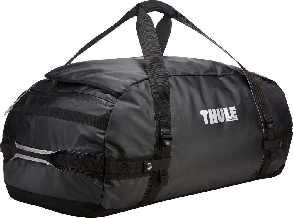 Спортивная сумка-баул Thule Chasm, цвет: черный, 90 л. Размер L221301Thule Chasm Large - Эти жесткие, устойчивые к неблагоприятным погодным условиям сумки с широко раскрывающимся основным отделением и съемными ремнями — ваши надежные спутники в любой поездке.