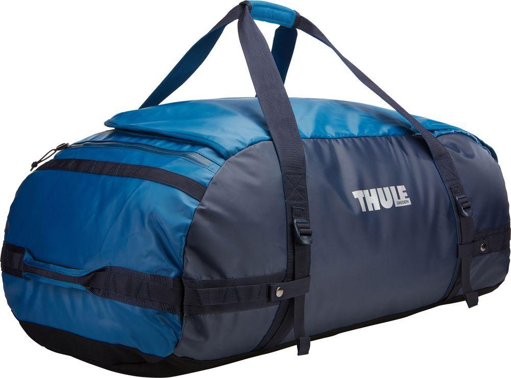Спортивная сумка-баул Thule Chasm, цвет: синий, 130 л. Размер XL221402Thule Chasm X-Large - Эти жесткие, устойчивые к неблагоприятным погодным условиям сумки с широко раскрывающимся основным отделением и съемными ремнями — ваши надежные спутники в любой поездке.