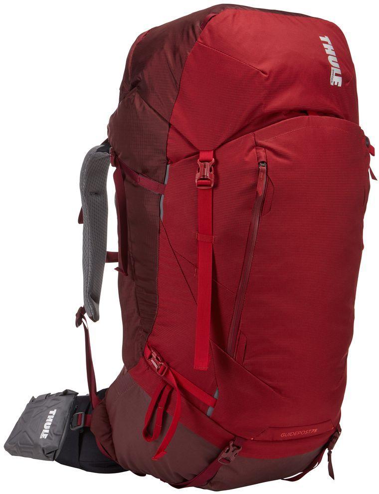Рюкзак туристический женский Thule Guidepost, цвет: бордовый, 75 л222103Thule Guidepost 75 л идеально подходит для недельных походов. Рюкзак отличается настраиваемой системой крепления TransHub, обеспечивающей идеальную посадку, поворачивающимся набедренным ремнем, который позволяет рюкзаку повторять ваши движения, и крышкой, способной трансформироваться в дополнительный рюкзак, который поможет вам покорить любую вершину.