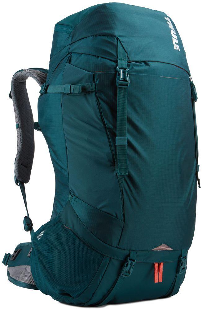Рюкзак туристический женский Thule Capstone, цвет: темно-бирюзовый, 50 л223104Идеален для однодневного пешего похода или непродолжительного похода легкого уровня. Имеет полностью регулируемую подвеску, воздухопроницаемую заднюю панель и вшитый дождевой чехол.