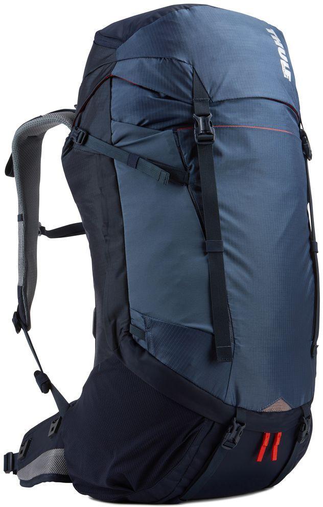 Рюкзак туристический мужской Thule Capstone, цвет: синий, 40 л223201Подходит для путешествий на целый день или коротких путешествий с ночевкой. Имеет полностью регулируемую подвеску, воздухопроницаемую заднюю панель и дождевой чехол.