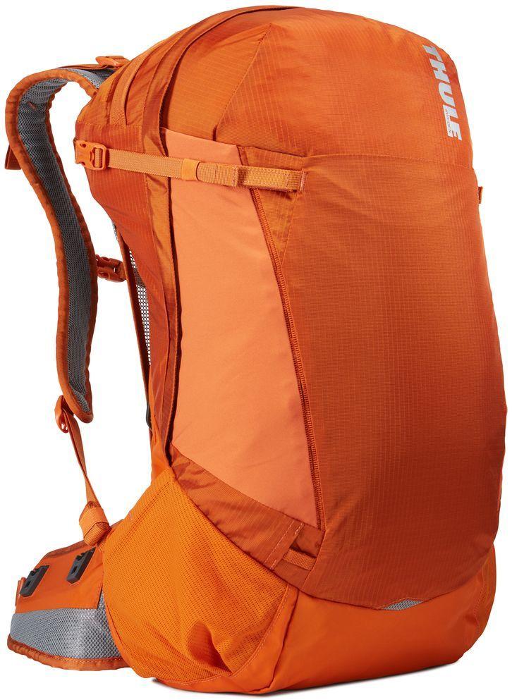 Рюкзак туристический мужской Thule Capstone, цвет: коричневый, 32 л224102Подходит для путешествий на целый день, имеет регулируемую подвеску, воздухопроницаемую заднюю панель и вшитый дождевой чехол.