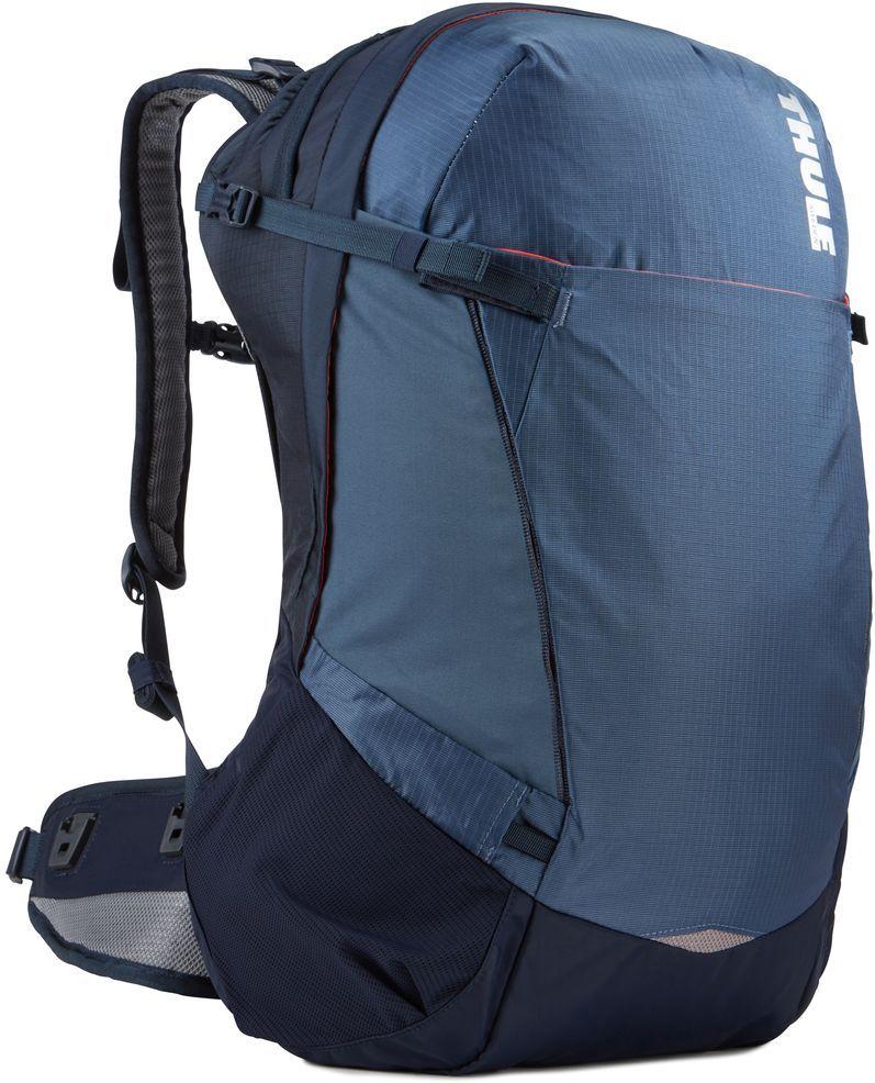 Рюкзак туристический женский Thule Capstone, цвет: синий, 32 л224103Подходит для путешествий на целый день, имеет регулируемую подвеску, воздухопроницаемую заднюю панель и вшитый дождевой чехол.