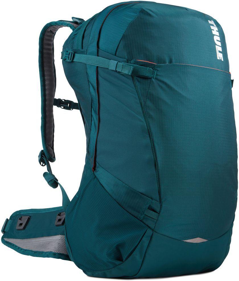 Рюкзак туристический женский Thule Capstone, цвет: темно-бирюзовый, 32 л224104Подходит для путешествий на целый день, имеет регулируемую подвеску, воздухопроницаемую заднюю панель и вшитый дождевой чехол.