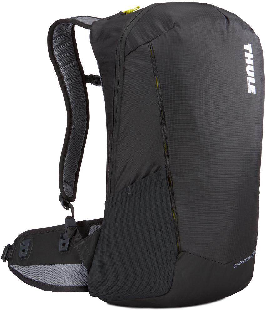 Рюкзак туристический мужской Thule Capstone, цвет: темно-серый, 22 л. 225100225100Надежный рюкзак для ежедневного использования с воздухопроницаемой задней панелью и вшитым дождевым чехлом.