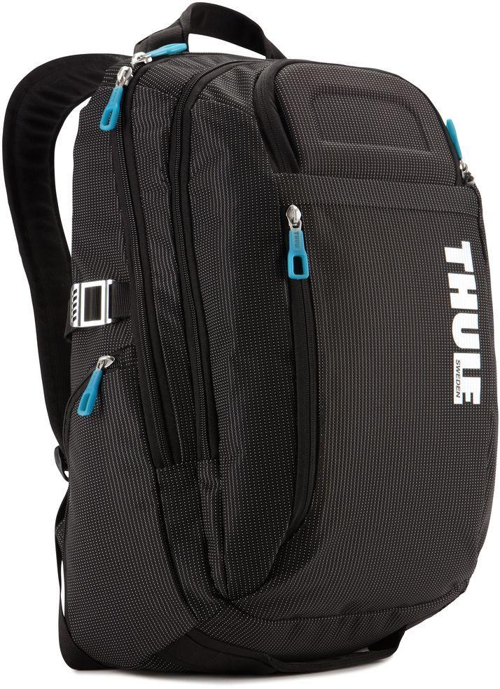 Рюкзак городской Thule Crossover, цвет: черный, для MacBook 15, 21 л3201751Рюкзак Thule Crossover, 21 л - Идеальный легкий рюкзак для путешествий и ежедневных прогулок по городу вместит все необходимое.