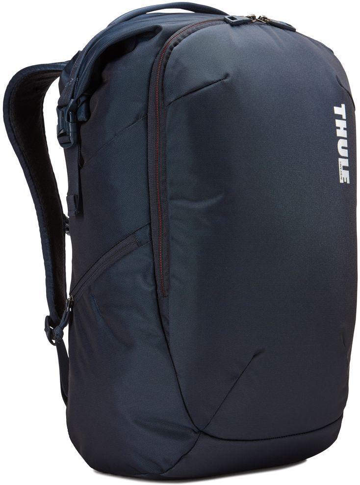 Рюкзак городской Thule Subterra Backpack, цвет: темно-синий, 34 л3203441Рюкзак двойного назначения, который можно использовать как дорожную сумку или как обычный рюкзак. Отделение для хранения вещей пригодится для дальних поездок, выньте его при повседневном использовании.