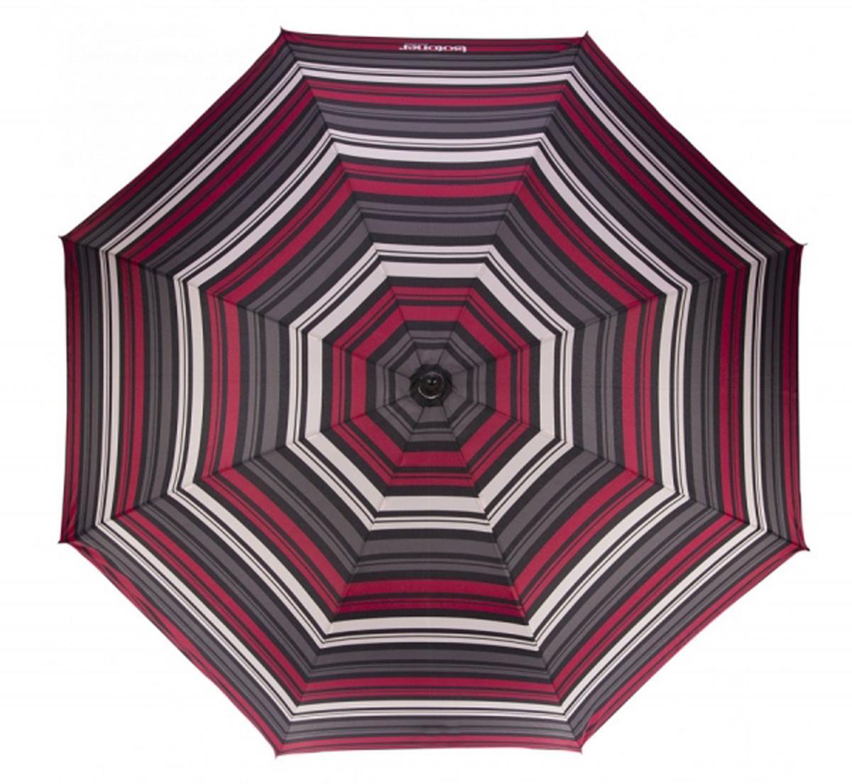 Зонт женский Isotoner Полоска Магнолия, механический, 5 сложений, цвет: серый, мультиколор. 09137-355309137-3553Компактный женский зонт Isotoner изготовлен из металла и пластика. Каркас зонта на прочном металлическом стержне. Купол зонта изготовлен качественного полиэстера. Закрытый купол застегивается на липучку хлястиком. Практичная рукоятка закругленной формы разработана с учетом требований эргономики. Зонт складывается и раскладывается механическим способом. Такой зонт не только надежно защитит от дождя, но и станет стильным аксессуаром.