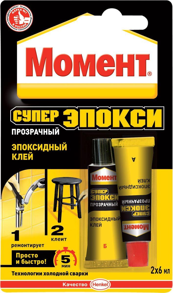 """Клей эпоксидный Момент """"Супер эпокси"""", 2 шт, 6 мл 1371260"""