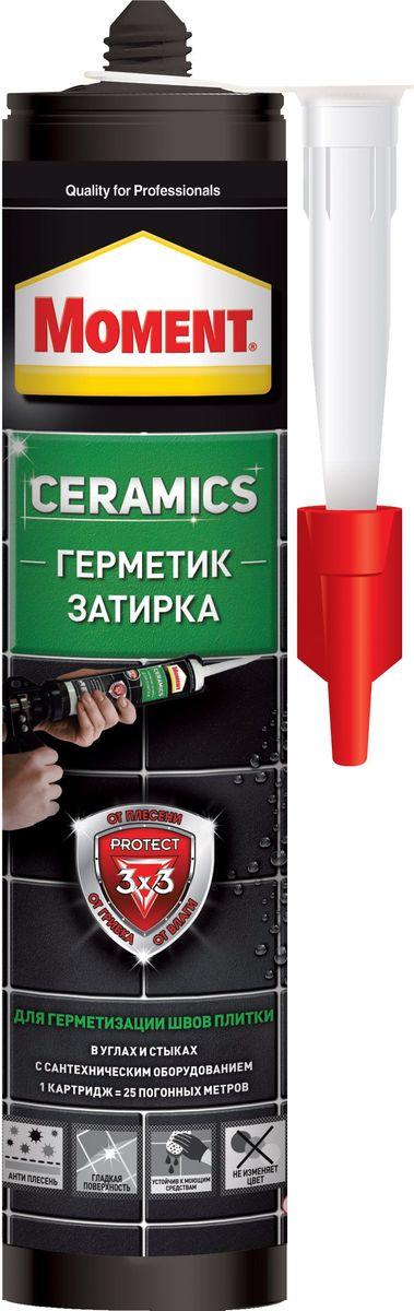 """Герметик-затирка Момент """"Ceramics"""", цвет: жасмин, 280 мл 2105677"""