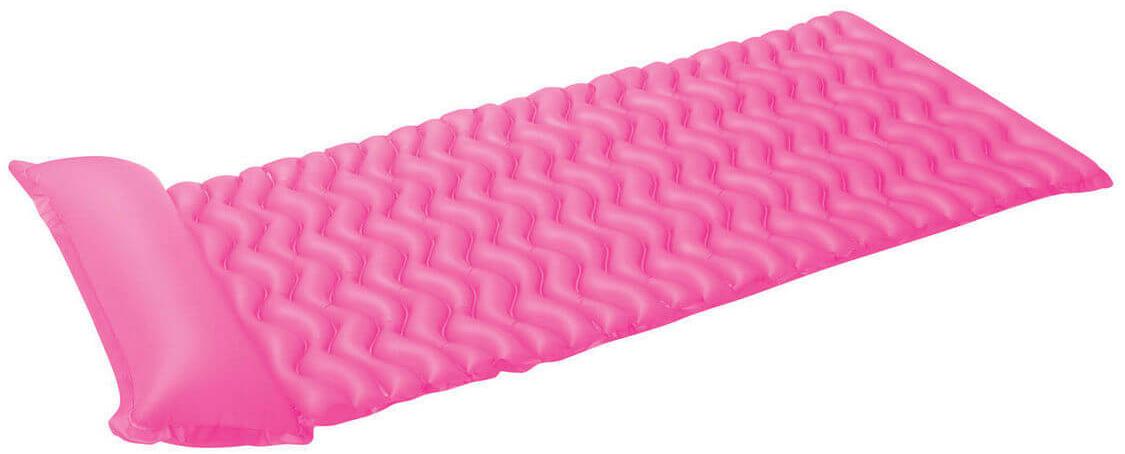 Надувной матрас Intex Тот-Н-Флот, цвет: розовый, 229 х 86 см. с58807с58807Размер: 229х86 см Насос: да Вес: 1,293 кг Материал: ПВХ пленка