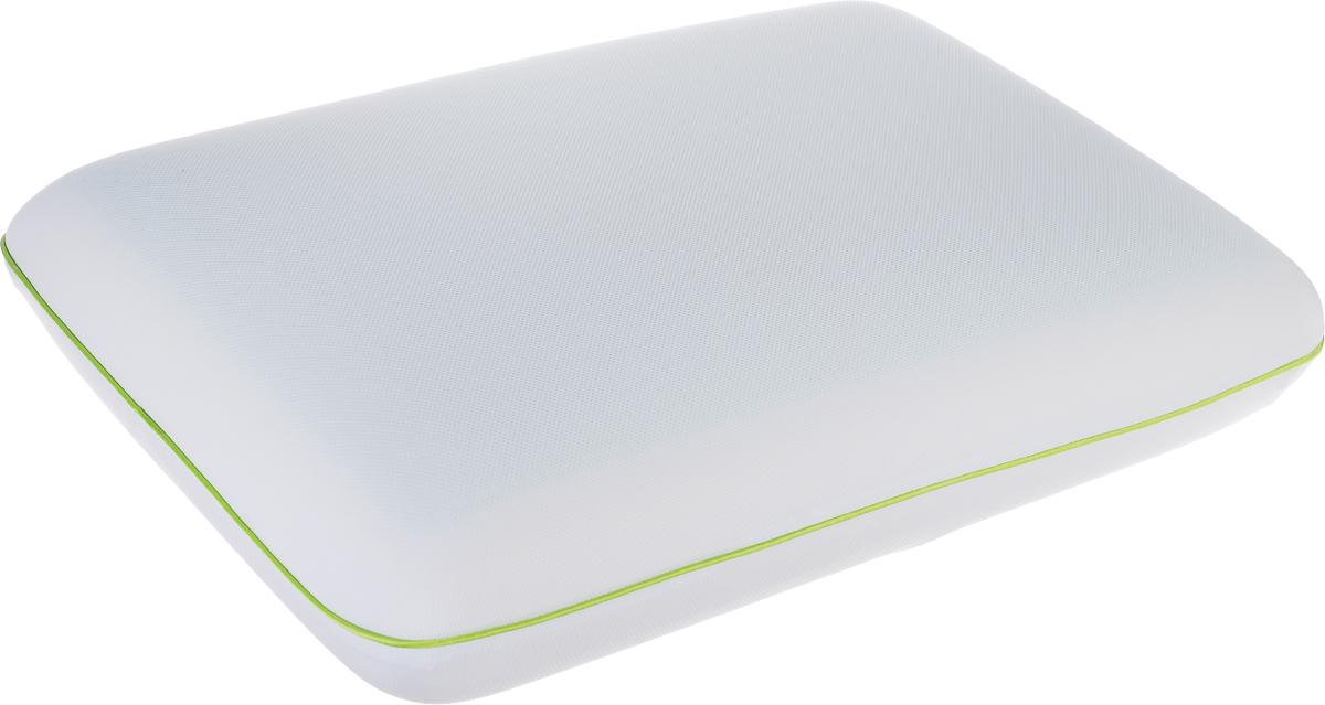 Подушка Аскона Ecogel Classic Green, наполнитель: Memory Foam, Ecogel, 60 x 40 см00-00001159Подушка с охлаждающим эффектом Аскона Ecogel Classic Green. Охлаждающий эффект подушки помогает глубокому сну и лучшей работоспособности мозга в течение дня. Специальная технология распределяет тепло по всей поверхности подушки, обеспечивая приятное чувство прохлады. Подушка также сочетает в себе эффект памяти, благодаря чему принимает контуры тела и не требует привыкания. Супермягкий чехол подушки изготовлен из микрофибры. Наполнитель - Memory Foam и Ecogel. Слой Ecogel располагается на одной стороне подушек, с обратной стороны - Memory Foam. Подушка анатомической формы понравится тем кто любит спать на боку и на спине. Свойства: - охлаждающий эффект во время сна; - правильная поддержка головы и шеи; - обладает микромассажным эффектом; - подстраивается под форму тела; - экологичные материалы. Подушка упакована в дополнительный чехол из полиэстера, который застегивается на молнию.