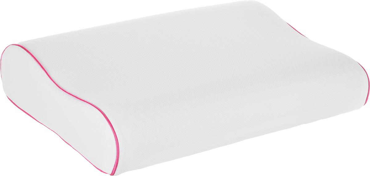 Подушка Аскона Ecogel Contour Pink, наполнитель: Memory Foam, Ecogel, 60 x 40 см00-00001160Подушка с охлаждающим эффектом Аскона Ecogel Contour Pink. Охлаждающий эффект подушки помогает глубокому сну и лучшей работоспособности мозга в течение дня. Специальная технология распределяет тепло по всей поверхности подушки, обеспечивая приятное чувство прохлады. Подушка также сочетает в себе эффект памяти, благодаря чему принимает контуры тела и не требует привыкания. Чехол подушки изготовлен из микрофибры. Наполнитель - Memory Foam и Ecogel. Слой Ecogel располагается на одной стороне подушек, с обратной стороны - Memory Foam. Подушка анатомической формы понравится тем кто любит спать на боку и на спине. Свойства: - охлаждающий эффект во время сна; - правильная поддержка головы и шеи; - обладает микромассажным эффектом; - подстраивается под форму тела; - экологичные материалы. Подушка упакована в дополнительный чехол из полиэстера, который застегивается на молнию.