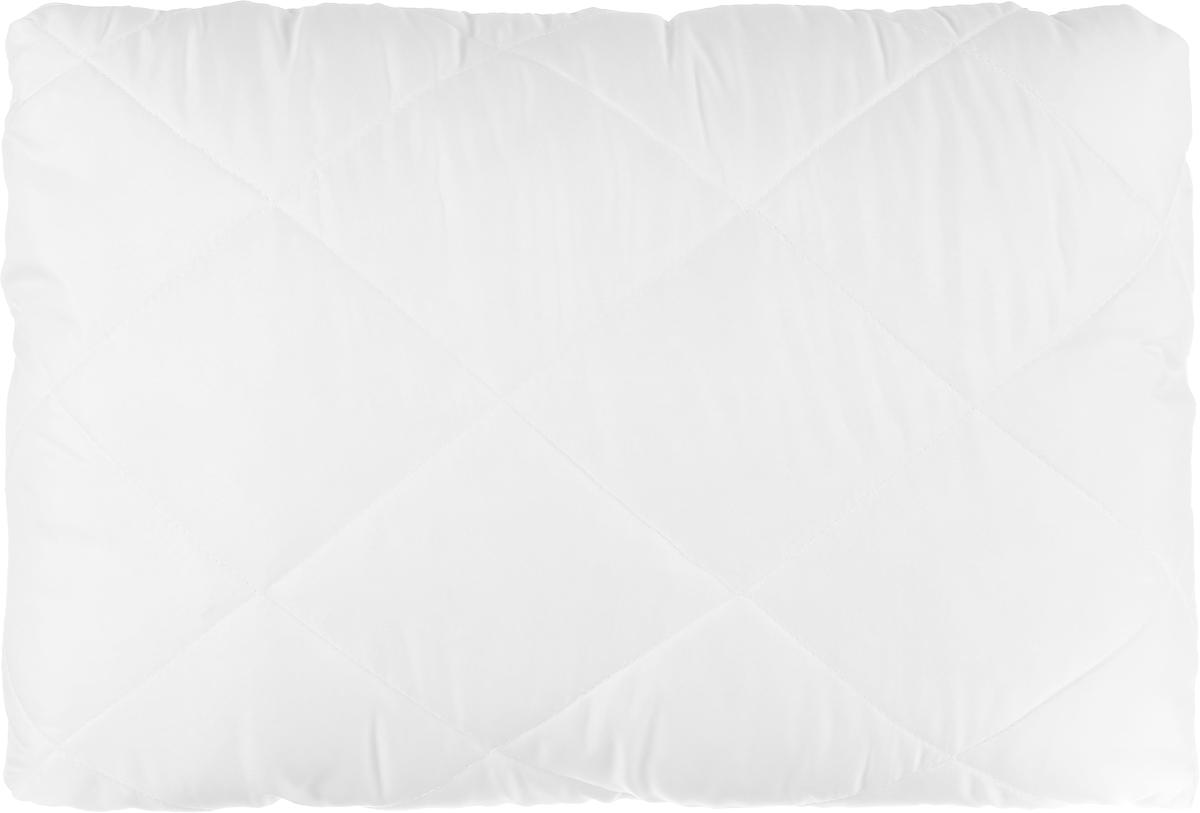 Подушка Аскона Briz, 50 x 70 см00-00001148В основе подушки – современный материал Tencel. В его состав входит натуральное эвкалиптовое волокно, которое прекрасно впитывает влагу, сохраняя при этом сухость и прохладу. Это гарантирует Вам крепкий сон в течение всей ночи! Стеганый чехол позволяет подушке надолго сохранить свою первоначальную форму, исключая миграции наполнителя. Рекомендована для сна на боку.