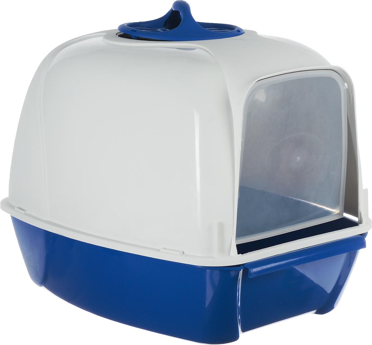 Био-туалет для кошек MPS Pixi, 52х39х39h см синийS07010103_синийБио-туалет для кошек MPS Pixi, 52х39х39h см синий