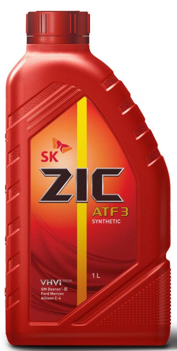 Масло трансмиссионное ZIС ATF 3, 1 л. 132632132632ZIС ATF 3 - высококачественная синтетическая жидкость для автоматических трансмиссий, произведенная на основе базового масла YUBASE и сбалансированного пакета присадок от ведущего мирового производителя. Плотность при 15°C: 0,8432 г/см3. Температура вспышки: 226°С. Температура застывания: -47,5°С. Индекс вязкости: 168.