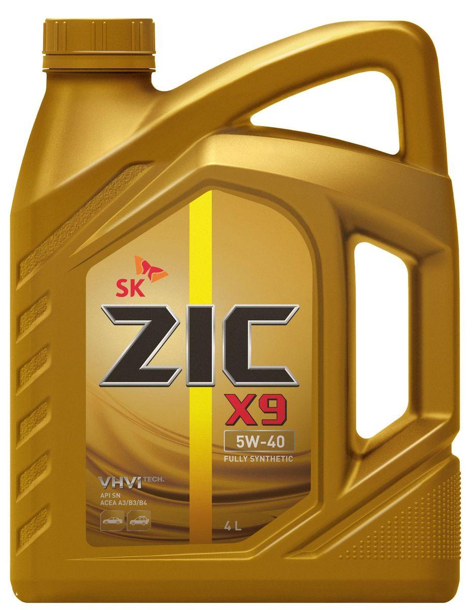 Масло моторное ZIC X9, синтетическое, класс вязкости 5W-40, API SN/CF, 4 л. 162613162613ZIC X9 - всесезонное полностью синтетическое моторное масло премиум- класса, изготовленное на основе базового масла высочайшего качества YUBASE и современного пакета присадок. Синтетическая основа и комплекс специальных присадок гарантируют дополнительный ресурс эксплуатационных характеристик, что позволяет увеличивать интервал замены масла в случае наличия рекомендации производителя автомобиля. Плотность при 15°C: 0,8513 г/см3. Температура вспышки: 222°С. Температура застывания: -42,5°С. Индекс вязкости: 173.