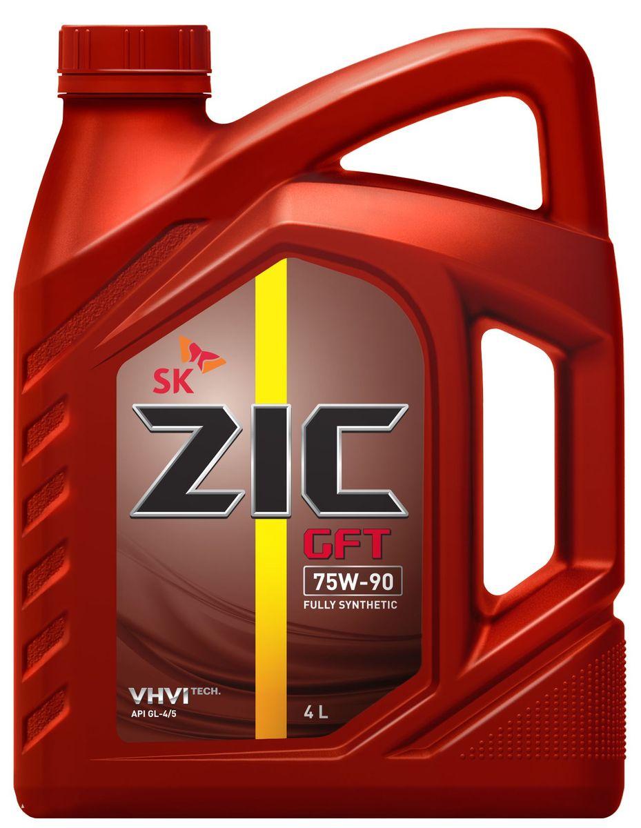 Масло трансмиссионное ZIС GFT, класс вязкости 75W-90, API GL-4/5, 4 л. 162629162629ZIС GFT - полностью синтетическое трансмиссионное масло для механических коробок передач и ведущих мостов. Произведено на основе полиальфаолефинов (ПАО). Плотность при 15°C: 0,8568 г/см3. Температура вспышки: 212°С. Температура застывания: -47,5°С. Индекс вязкости: 197.