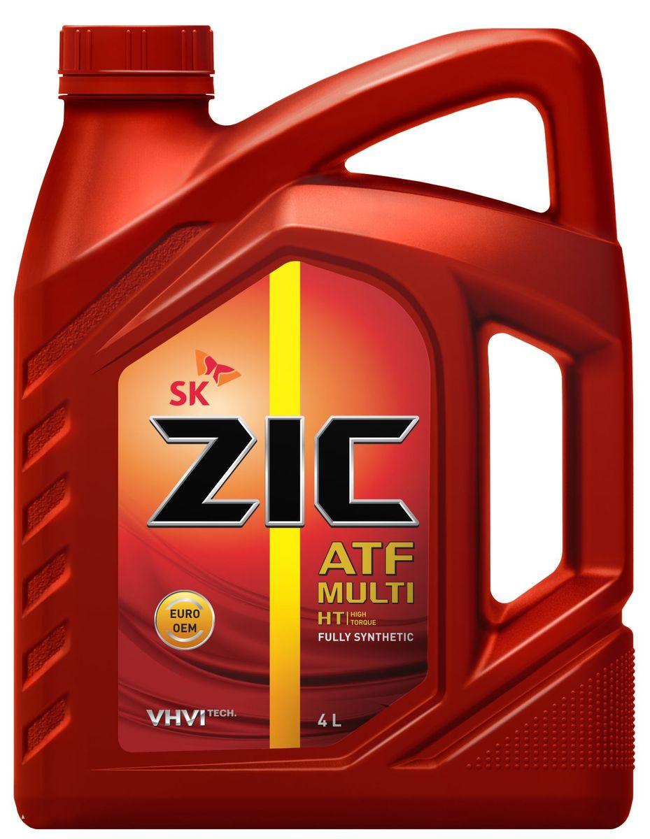 Масло трансмиссионное ZIС ATF Multi HT, 4 л. 162664162664ZIС ATF Multi HT - универсальное синтетическое трансмиссионное масло для автоматических коробок передач различных производителей, в том числе европейских. Плотность при 15°C: 0,85 г/см3. Температура вспышки: 212°С. Температура застывания: -45°С. Индекс вязкости: 153.